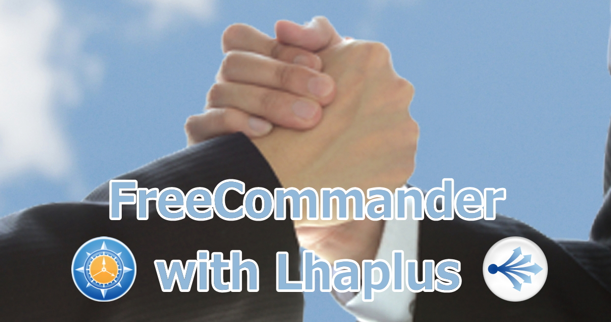 FreeCommander with Lhaplus